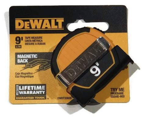 9 ft. DeWALT Magnetic Back Tape Measure DWHT33028  (DW-33028)