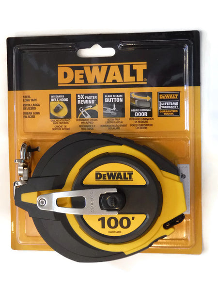100 ft. DeWALT Tape Measure DWHT34036  (DW-34036)
