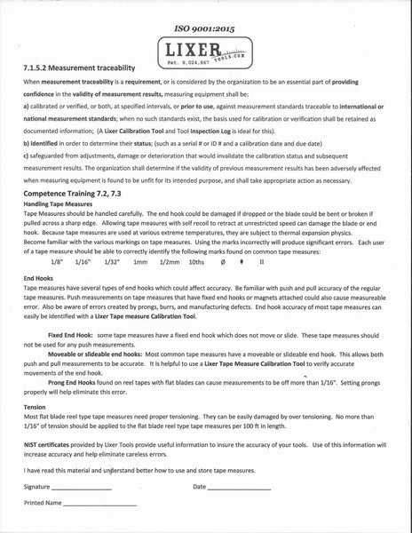 ISO Competency Training Sheet (ISO-TRN) Free Download