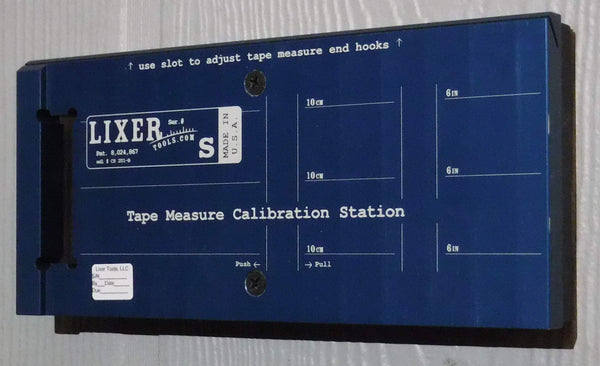 Lixer S Calibration Station (LCS-S-4PK) Wall Mounted 4-Pack