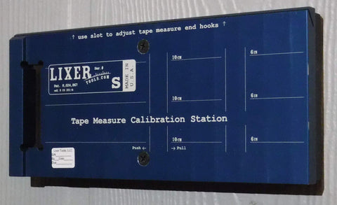 Lixer S Tape Measure Calibration Station