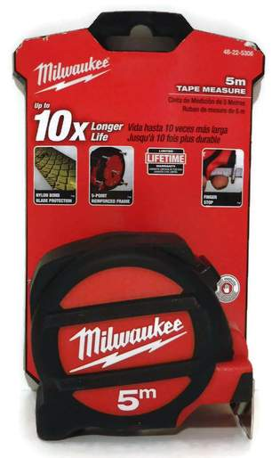 5M Milwaukee Tape Measure 48-22-5306 Class II with architectural scale (MIL-5306)