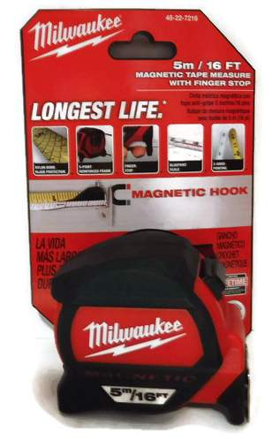 5M/16ft Milwaukee Magnetic Tape Measure 48-22-7216 Class II with architectural scale (MIL-7216)