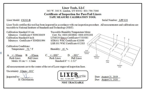Lixer Pass/Fail Calibration Station (LCS-PF-4PK) Wall Mounted 4-pack