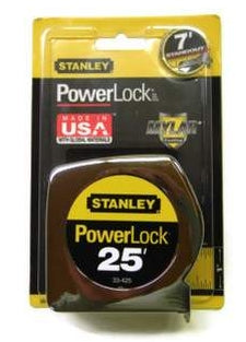 25 ft. Stanley Power Lock Tape Measure 33-425 (ST33-425)