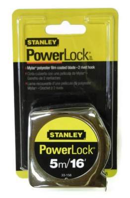 5M / 16ft. Stanley Tape Measure 33-158