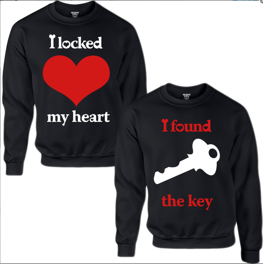 I Locked My Heart I Found The Key Sweatshirts...