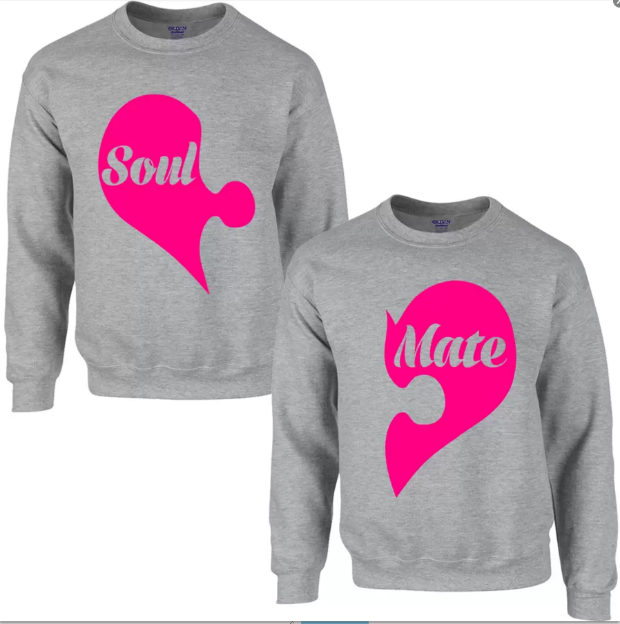 Soul Mate Sweatshirts For Men &Amp; Women