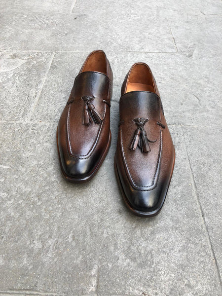 Bruine loafers - PAPYON COLLECTION
