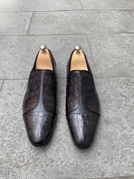 Croco loafers - Papyon.be