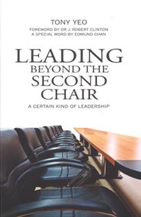 LEADING BEYOND THE SECOND CHAIR