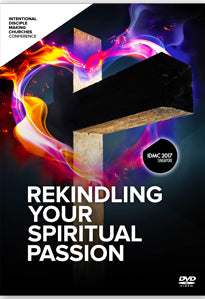 IDMC 2017: REKINDLING YOUR SPIRITUAL PASSION CONFERENCE - VIDEO PLENARY SET / DVD