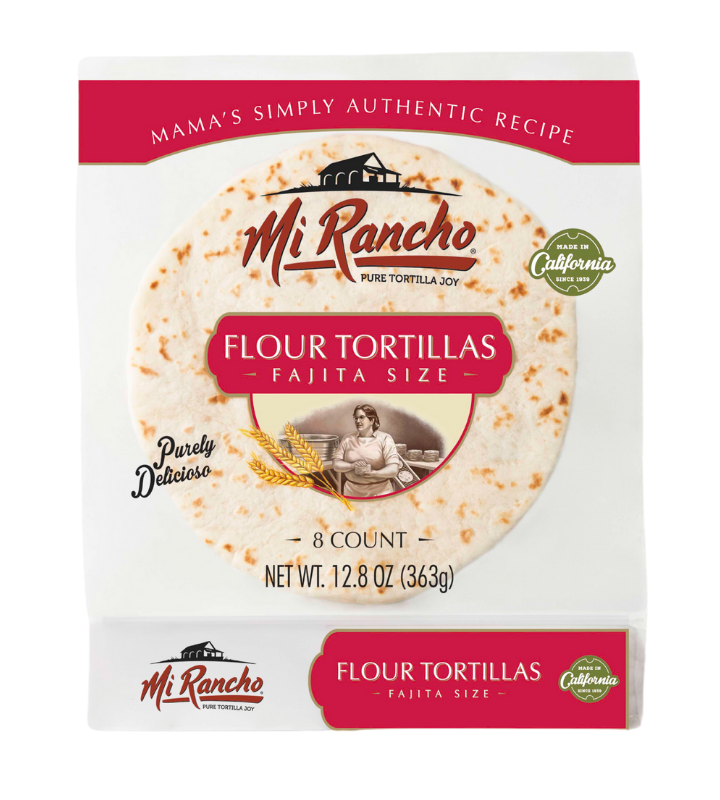 Mama's Simply Authentic Fajita Flour Tortillas- 6 Packs