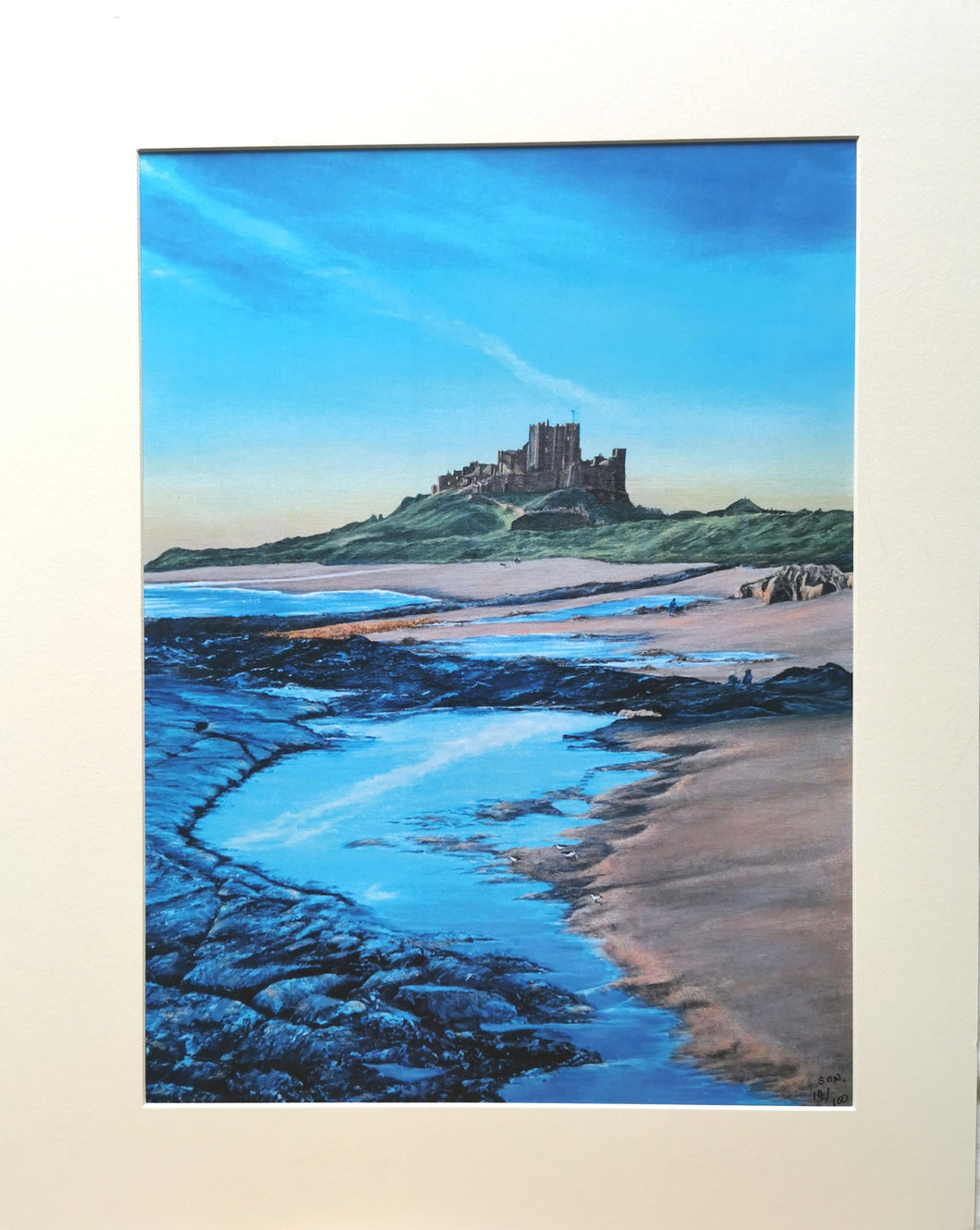 Sunrise over Bamburgh