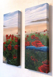(C) Poppies on Parade (Art of the month for September)