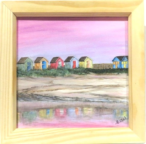 (Za) Amble Beach Huts