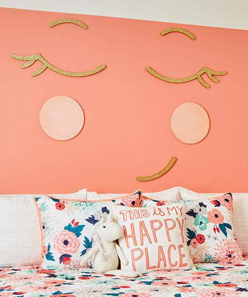 Smiley Face Wall Decor