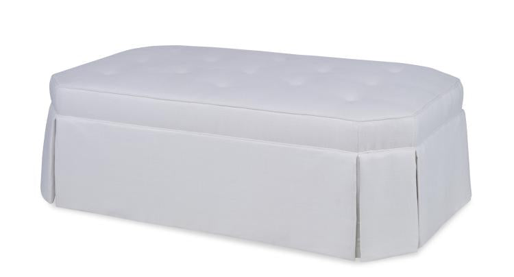 Oliver Tufted Ottoman