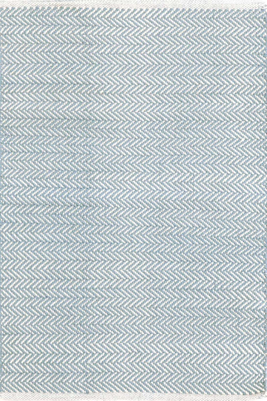 Herringbone in Swedish Blue