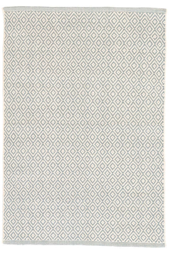 Lattice Rug in Woven Cotton