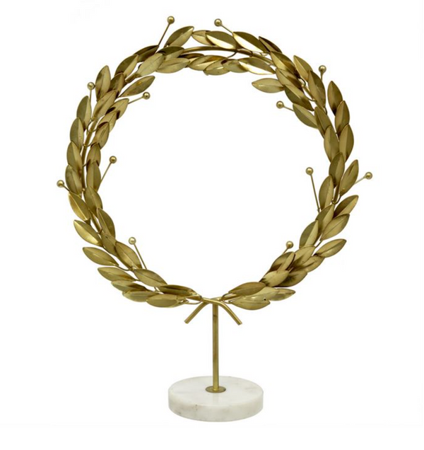 Grecian Wreath on Stand II