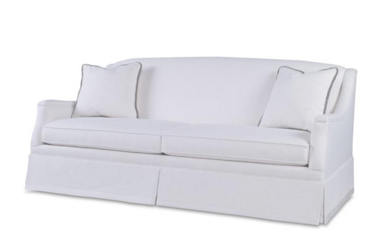 Langley Skirted Sofa | Ava Collection