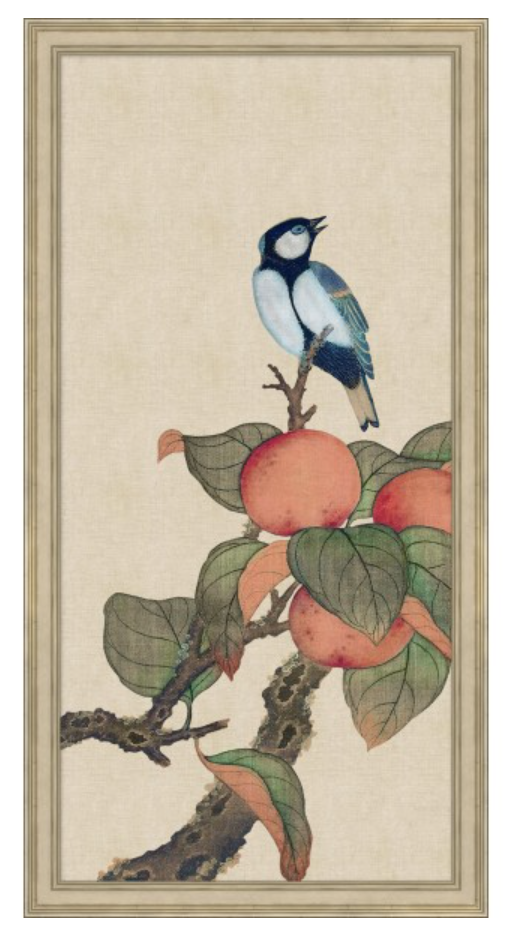 Birds and Fruit Triptych