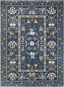 Arabesque Navy Rug