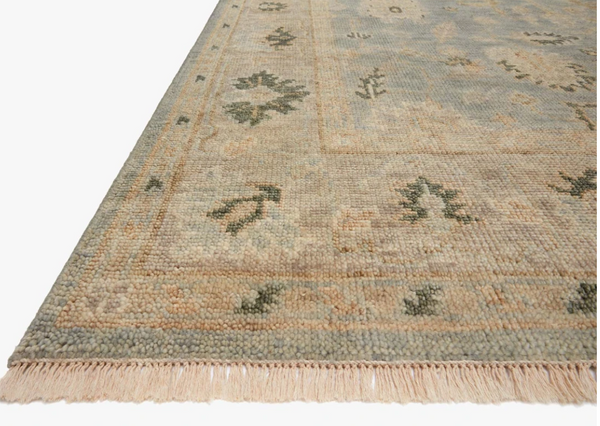 Helena Rug in Sky and Ash