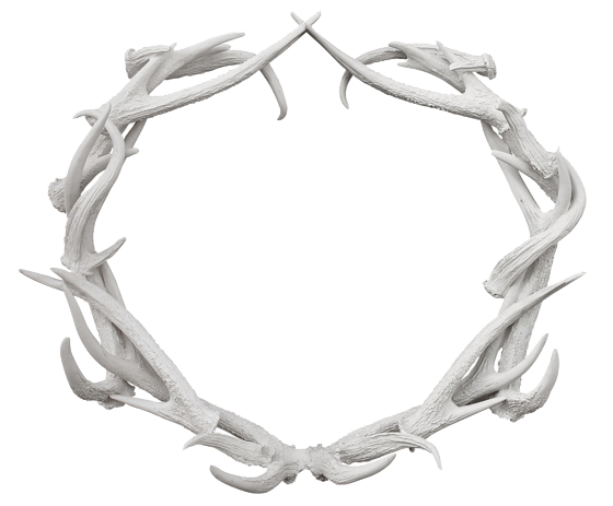 Antler Wreath