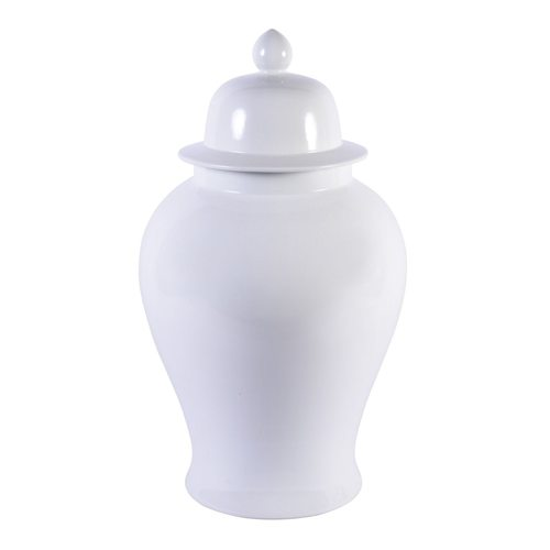 White Temple Jar, XL