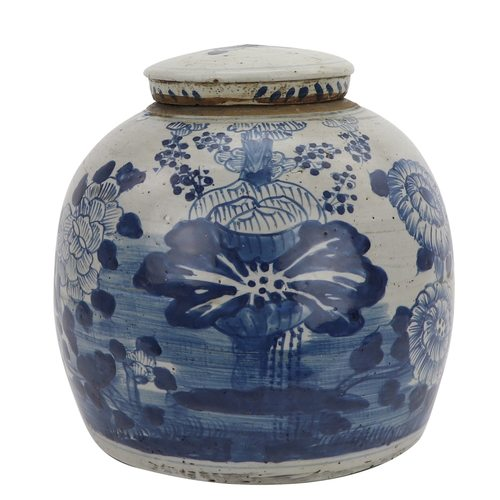 Vintage Ming Jar Four Season