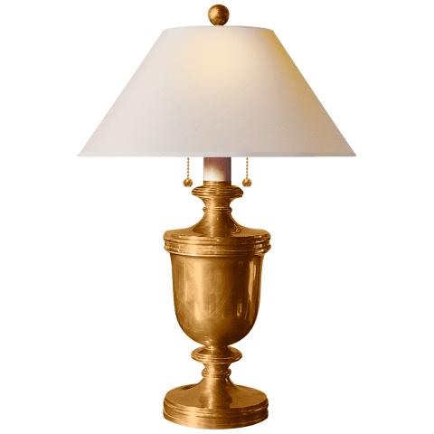 Classic Urn Form Medium Table Lamp