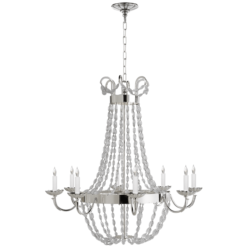 Paris Flea Market Large Chandelier