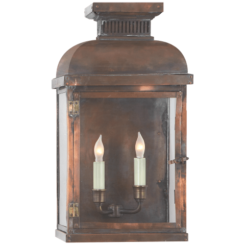Suffork Wide Short 3/4 Lantern