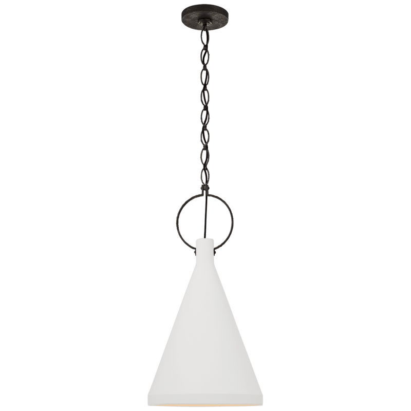 Limoges Medium Tall Pendant