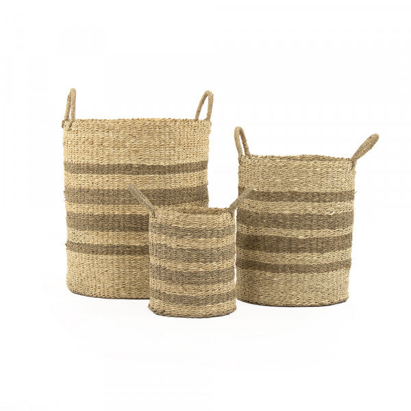 Woven Baskets Set of 3