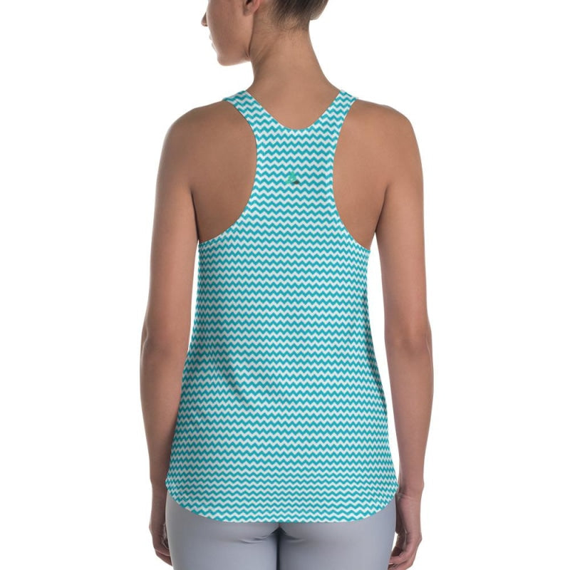 Blue Wave Women's Racerback Tank