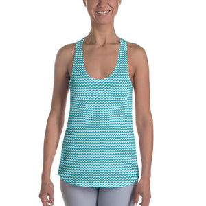 Blue Wave Women's Racerback Tank - XS