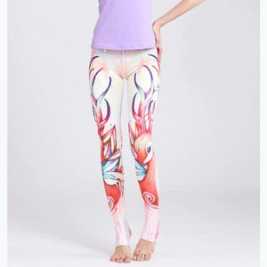 Fawn Tattoo Yoga Pants