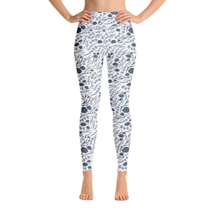 Fish Yoga Pants - XS