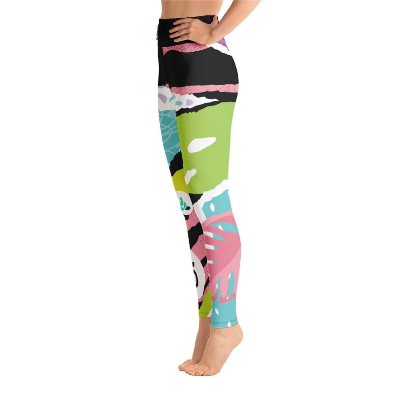 Jungle OM Yoga Pants