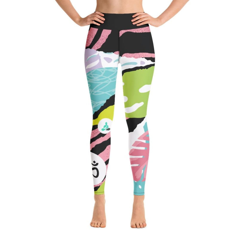 Jungle OM Yoga Pants - XS