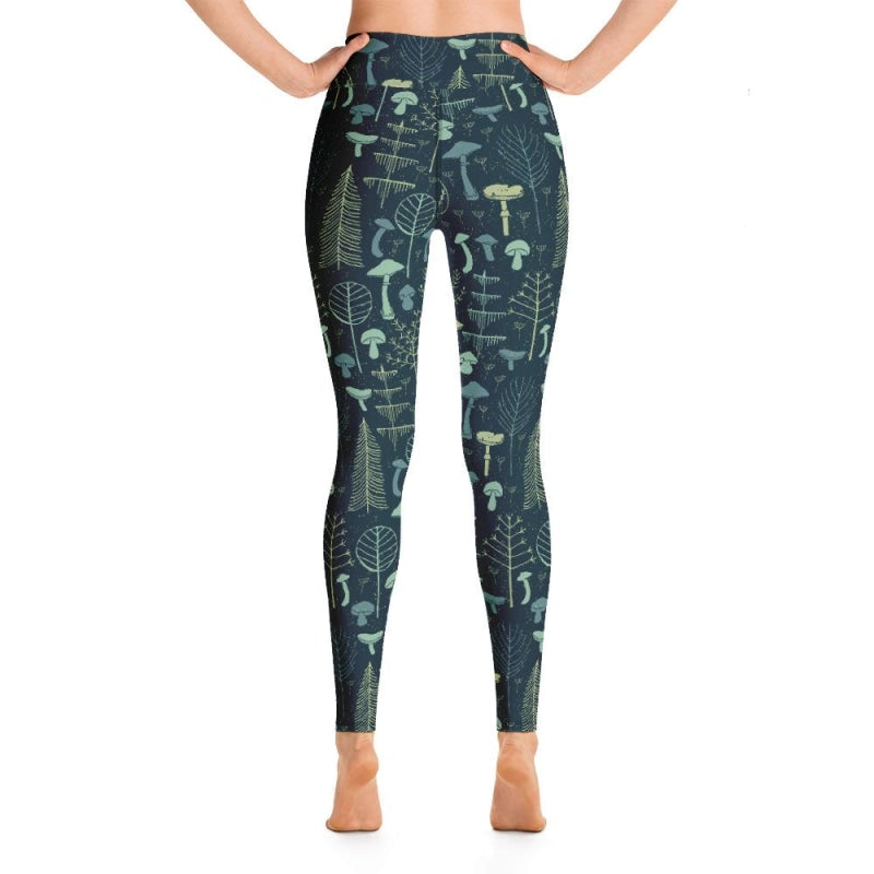 Magic Forest Yoga Pants