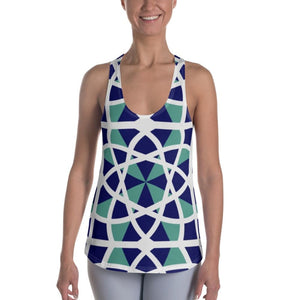 Mandala Abstract Women's Racerback Tank - XS