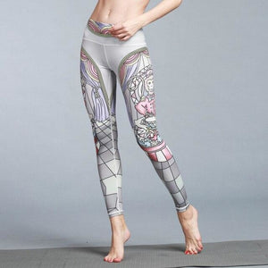 Monkey King Yoga Pants - S