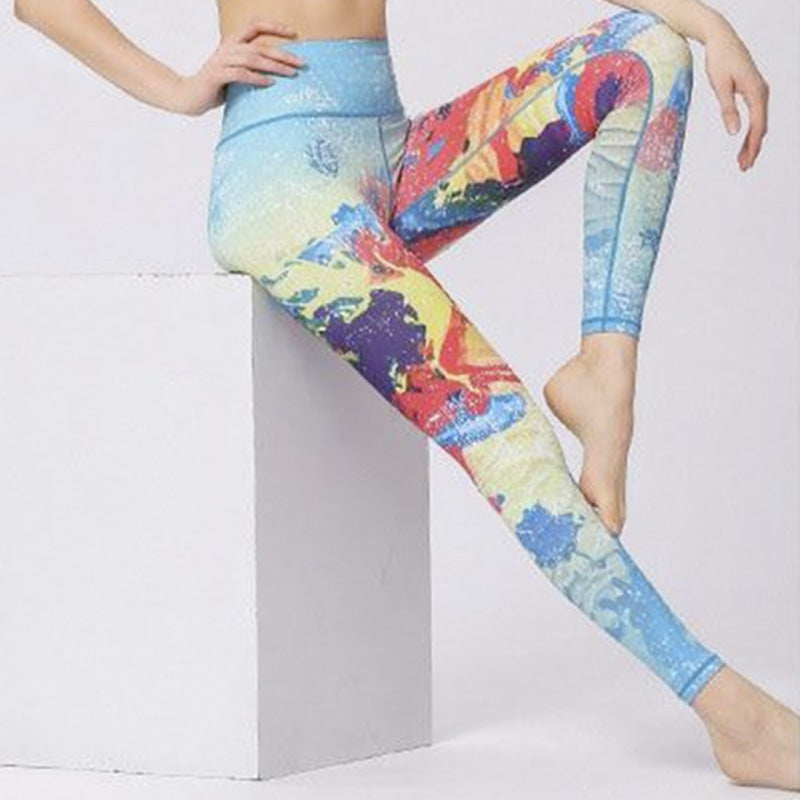 Summer Vibes Yoga Pants