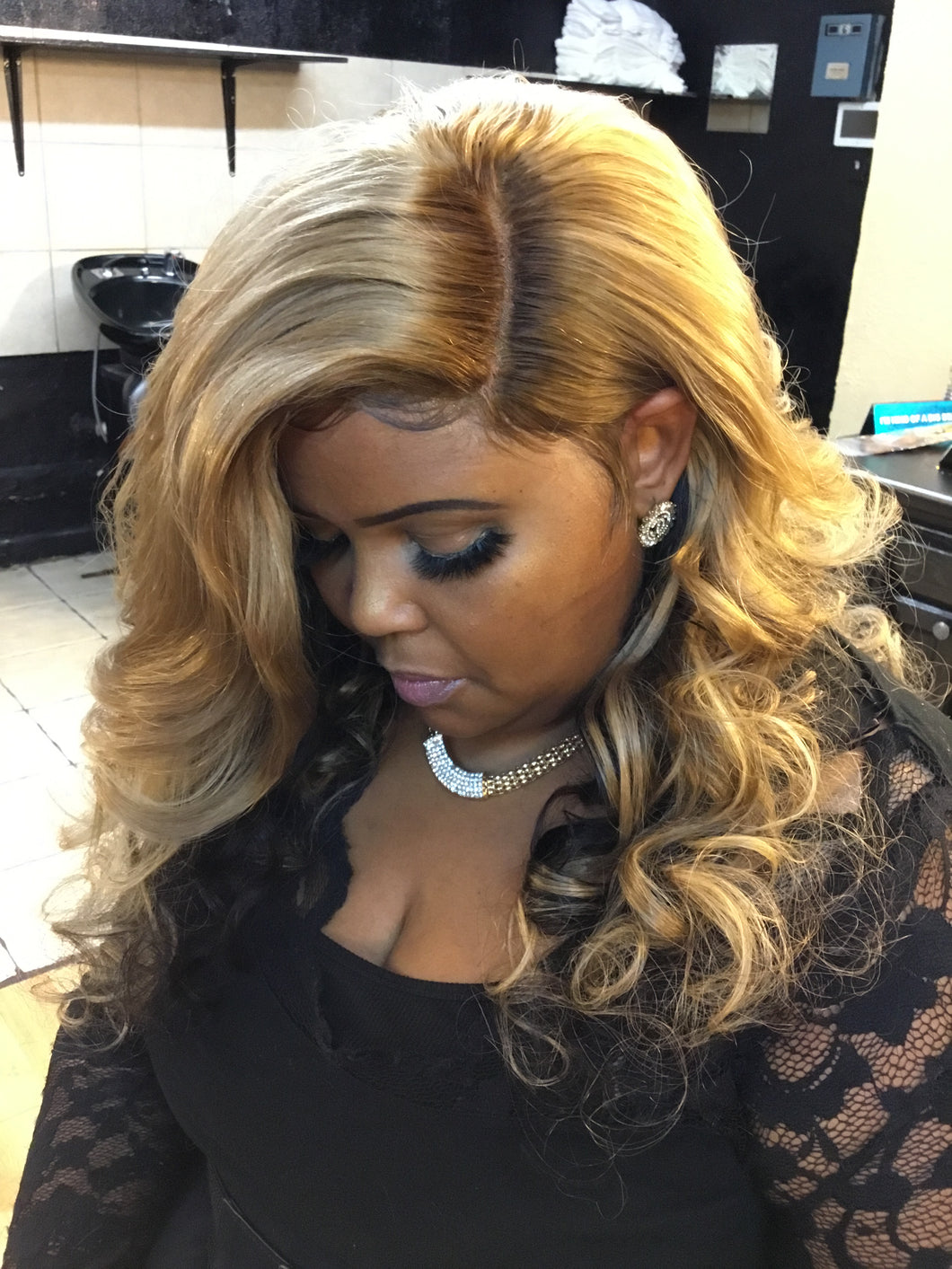 CLOSURE SEW IN INSTALL