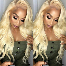 Load image into Gallery viewer, MIRACLE AMAZING BLONDE BOMBSHELL LACE WIGS (russian blonde)