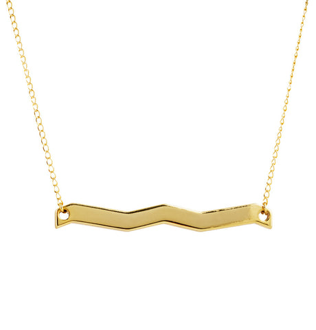 Destination in Gold Plated Brass